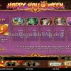Happy Halloween Video Slot Paytable
