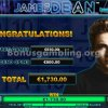 James Dean Slot Free Spins Winnings