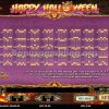 Happy Halloween Video Slot Paylines