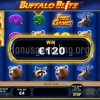 Buffalo Blitz Video Slot Big Win
